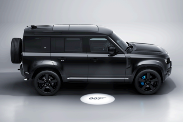"Noul Land Rover Defender V8 Bond Edition inspirat de filmul ""No Time To Die"""