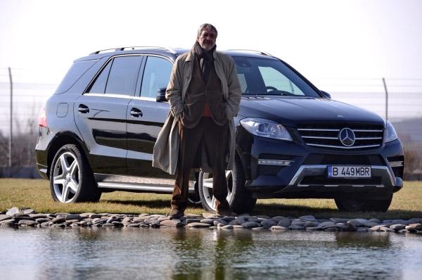 """Marcel Iures vorbeste despre excelenta si despre pasiunea sa pentru masini in cadrul interviurilor """"Mercedes-Benz: Ghidul Excelentei"""""""