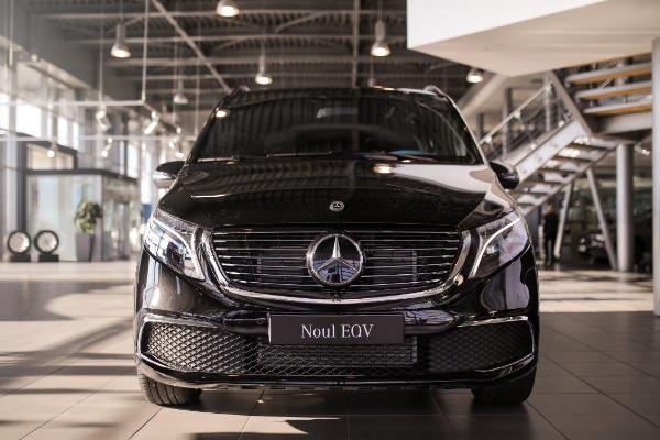 Noul Mercedes-Benz EQV: electric, versatil, inteligent