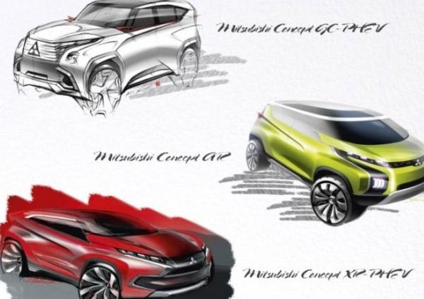 Mitsubishi Motors la Salonul Auto Geneva 2014