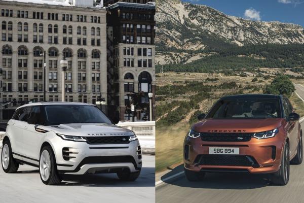Modelele Evoque si Discovery Sport dispun acum de editii limitate: sistem multimedia nou si motorizari hibride