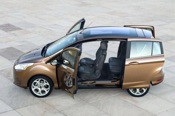 Noul Ford B-MAX este cel mai bine vandut monovolum compact din Europa