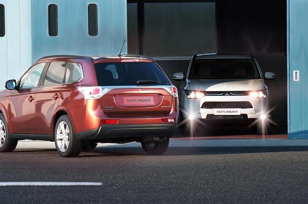 Noul Mitsubishi Outlander, siguranta si consum uimitor de mic