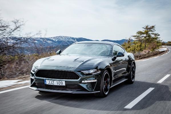 Noul Mustang BULLITT isi face debutul in Europa