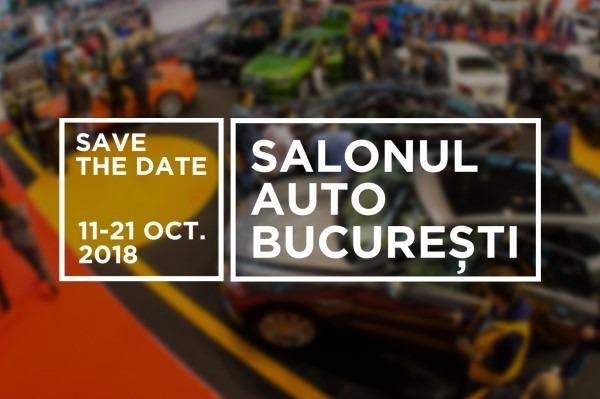 Te invitam la standul Tiriac Auto de la Salonul Auto Bucuresti 2018