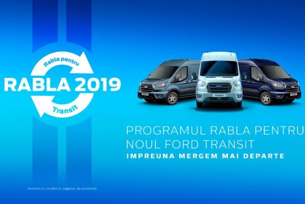 Oferta Ford Transit Van prin Programul Rabla