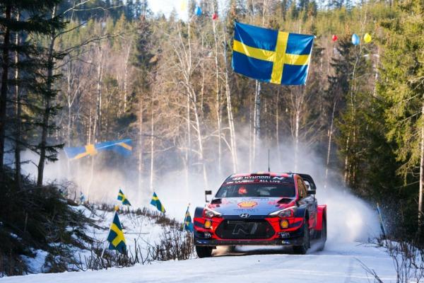 Ott Tänak si Hyundai Motorsport au incheiat Raliul Suediei pe locul al doilea