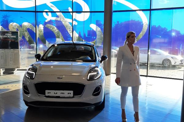Noul Ford Puma la Tiriac Auto Online Expo 2020