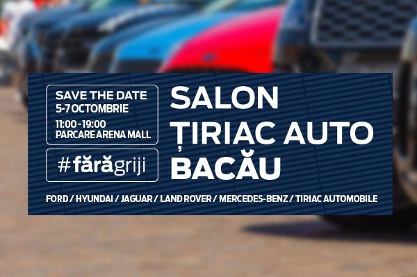 Te invitam la Salonul Tiriac Auto Bacau 2018