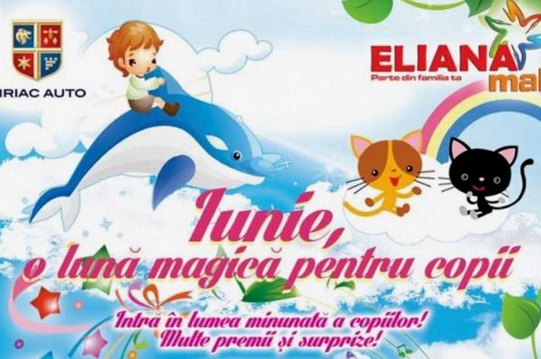 Sarbatorim Ziua Copilului la Eliana Mall Brasov