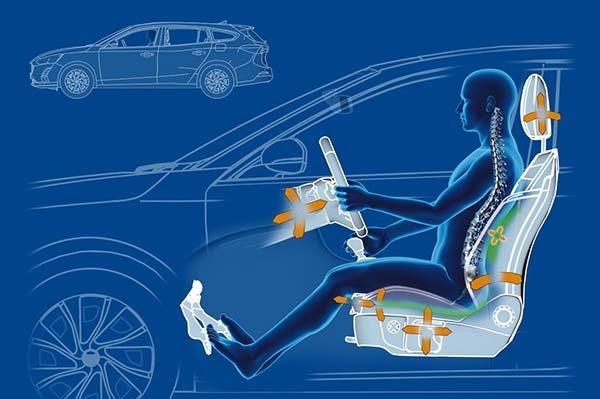 Scaunele noii generatii Ford Focus au capacitatea de a atenua durerile lombare