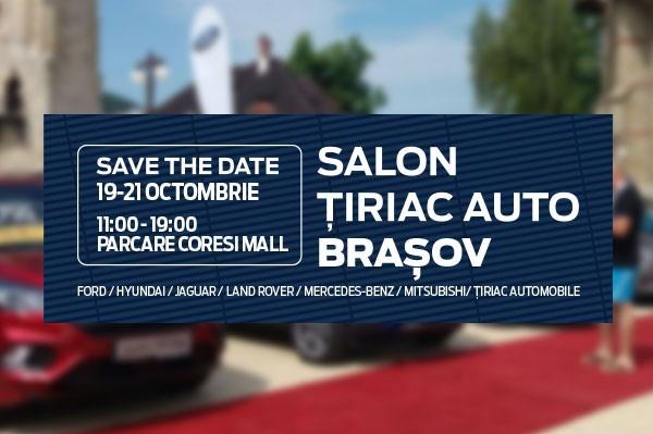 Te invitam la Salonul Tiriac Auto Brasov 2018