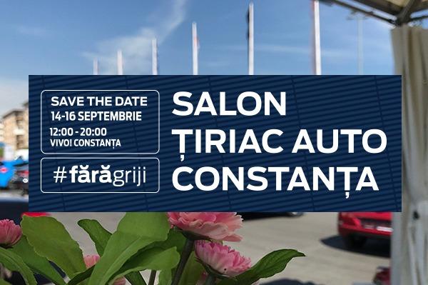 Te invitam la Salonul Tiriac Auto Constanta 2018