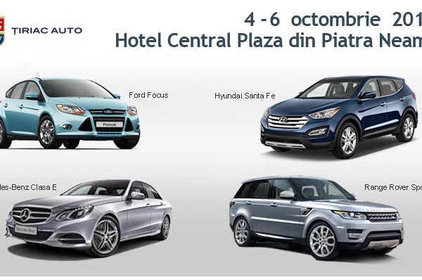 Tiriac Auto Bacau te invita la test drive la Piatra Neamt