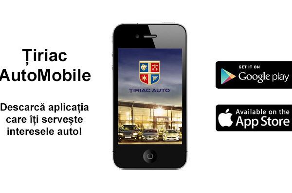 Tiriac Auto lanseaza aplicatia Tiriac AutoMobile