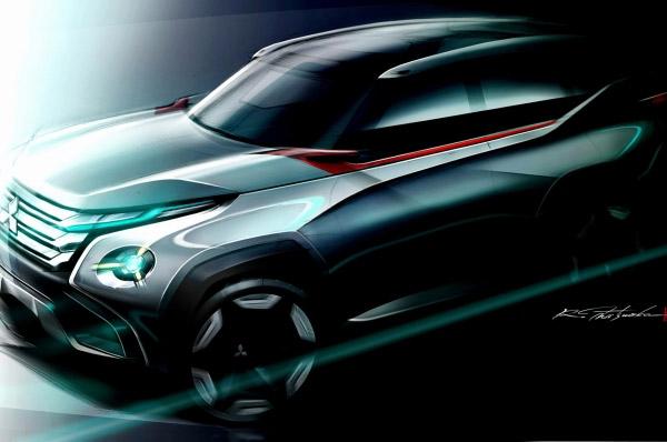 Trei noi modele concept vor dezvalui designul noii generatii Mitsubishi laTokyo Motor Show editia 2013