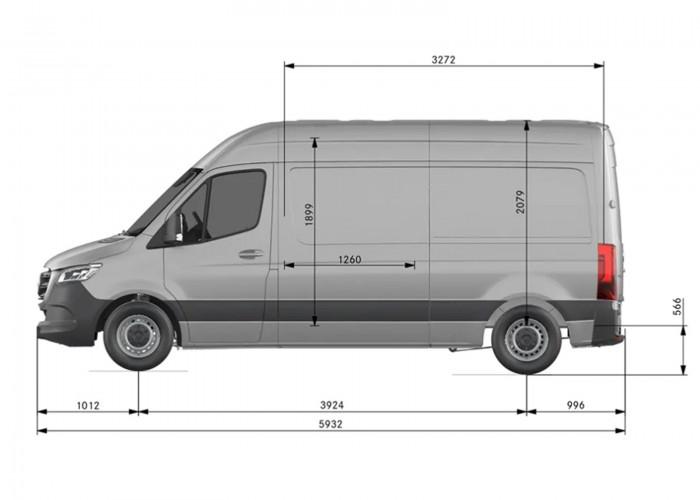 MERCEDES-BENZ SPRINTER  314 CDI Sprinter KA