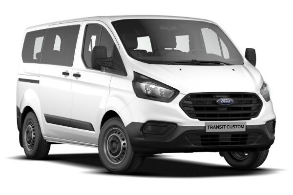 Oferta pers. juridice: Ford Transit Custom Kombi– rata lunara de 344 € fara TVA prin Programul Rabla