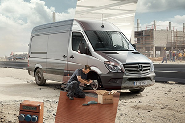 Urmeaza-ti drumul, de franele masinii tale ne ocupam noi. Mercedes-Benz Sprinter 901-906, Vito 639 si V-Class 447